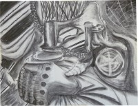 Charcoal on paper, 2011