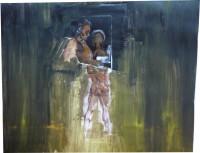 Acryll on colage, 2010