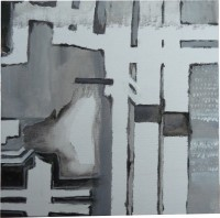 Oil and acryll on canvasboard, 2011