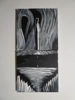 Acryll and latex on canvas (2x), 2012