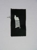 Plastic on textile, 2010