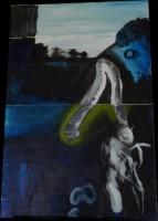 Acryll on double canvas, 2012