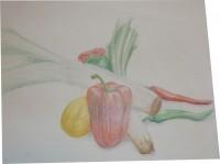 Colourpencil on paper, 50x65, 2010