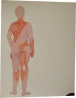 Acryll and gouache on canvas, 2009