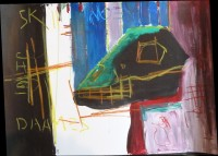Acryll and oilpastel on paper, 2011