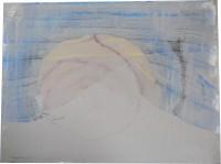 Acryll, gouache & thread on canvas